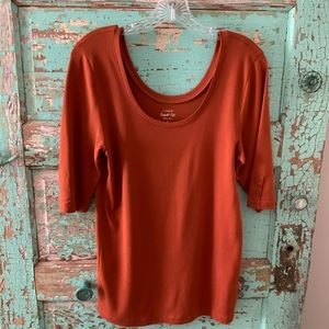 JCREW TOP SZ. LARGE